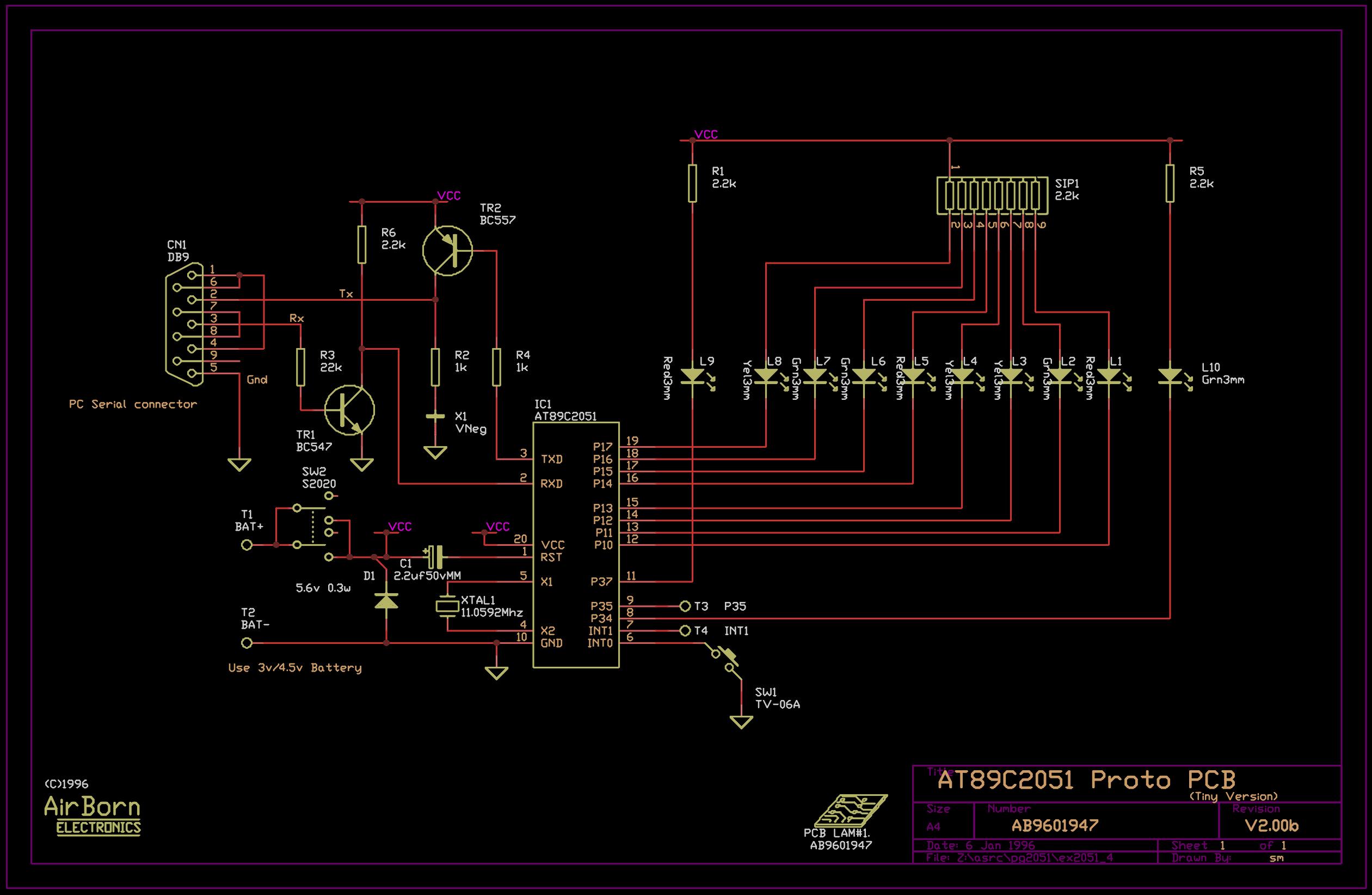 Evaluation Kit Circuit Diagram