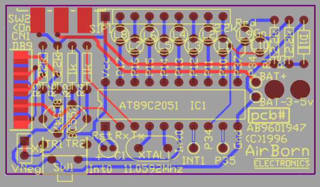 Serial to parallel PCB