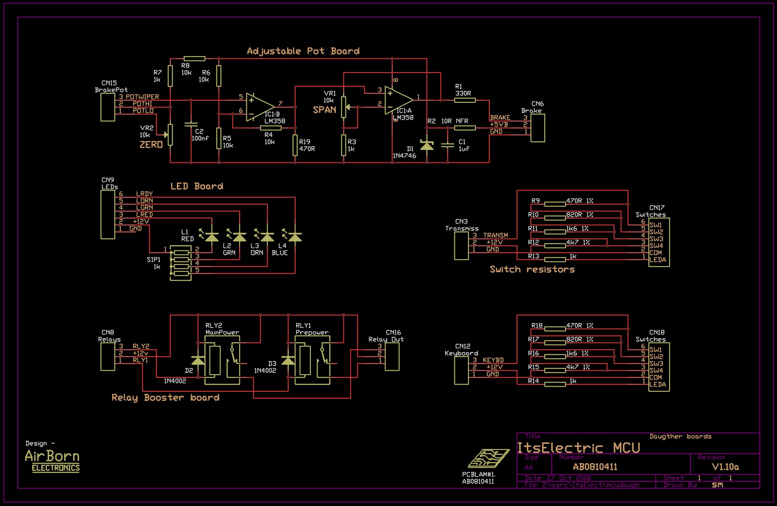 Mechatronic Control Unit  Ab0810411